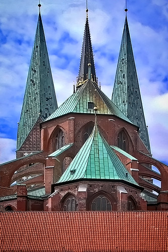 Germany - Lübeck - St. Marien - 777h