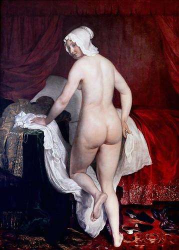 IMG_4207B Jacob Van Loo. 1614-1670. Paris.  Jeune femme se couchant dit