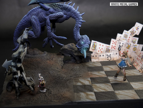Alice in Wonderland Diorama