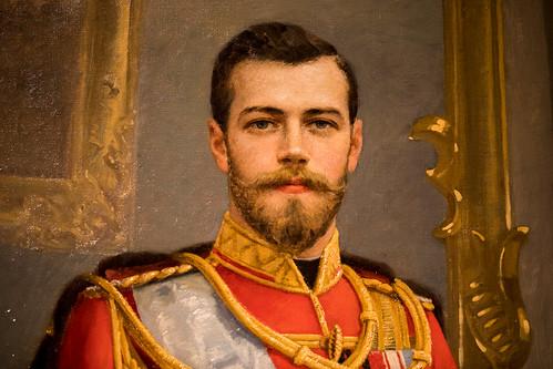 Nicholas II, Portrait (detail), Николай II (портрет)