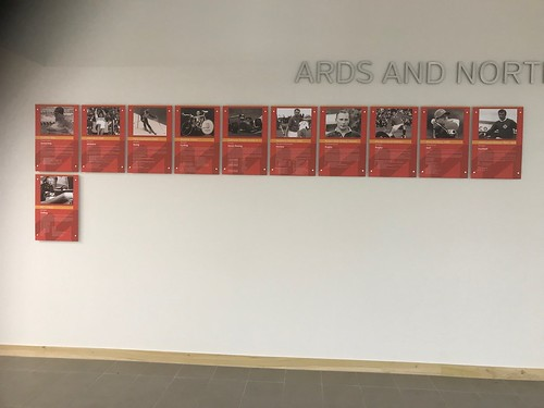 Ards And North Down Hall Of Fame in Ards Blair Mayne Wellbeing And Leisure Complex