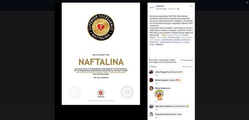NAFTALINA facebook