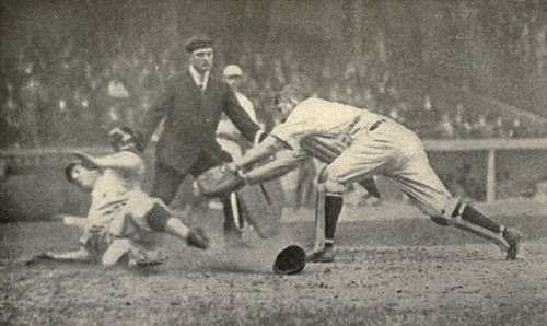 Close Play at the Plate