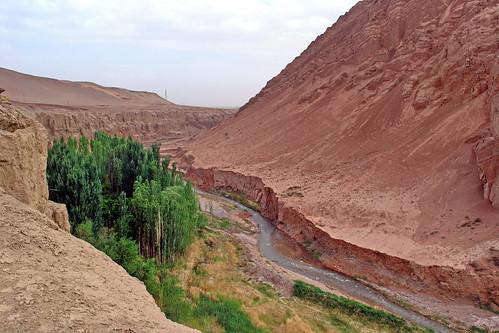 China - Xinjiang - Turpan - Landscape - 60