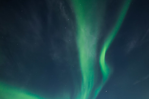 Canada |  Kuujjuaq • Northern lights above Inuit Lands