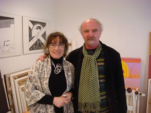 Olena Chekan with Samuel Ackerman Paris France 03.06.2010