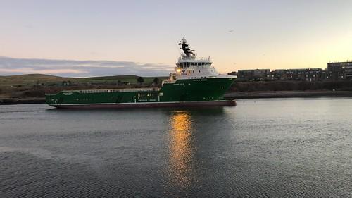 Havila Borg - Aberdeen Harbour Scotland -03/01/2019