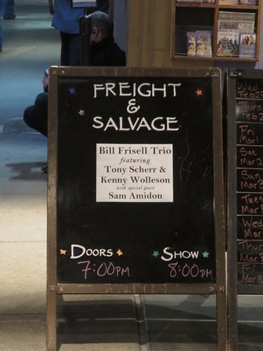 The Freight signboard