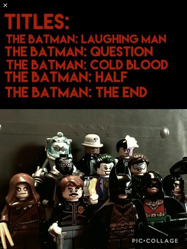 BATMAN FRANCHISE IDEAS: