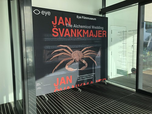 Jan Svankmajer exhibit at Eye Filmmuseum