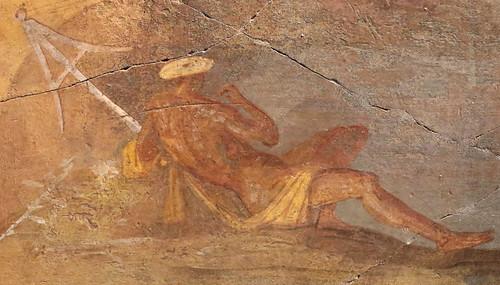 Affresco parietale con Ulisse e le Sirene (30 a.C.) - Palazzo Massimo alle Terme - Museo Nazionale romano