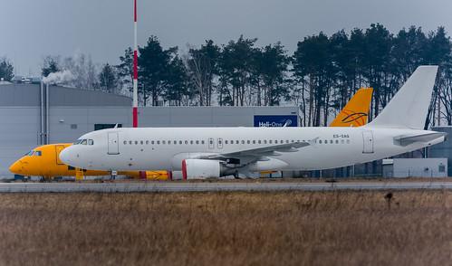 Airbus A320-214 [ES-SAQ] Smart Lynx Airlines Estonia