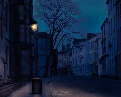 Night at Oxford