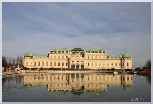 Austria - Vienna - The Upper Belvedere