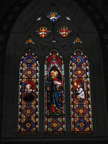 The Three Chancel Lancet Windows by Ferguson and Urie; the Former Saint George's Presbyterian Church - Chapel Street, St Kilda East