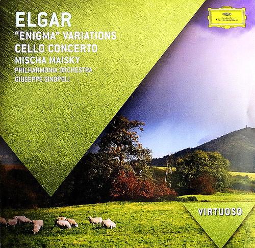 DSC03575. Edward ELGAR.  Mischa Maisky. Philharmonia Orchestra. Giuseppe Sinopoli. DG 2012.