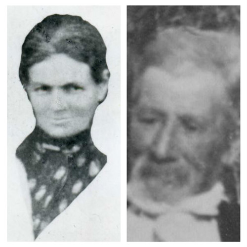 Great Grandfather George and Great Grandmother Elizabeth SIDNEY (nee THACKER)