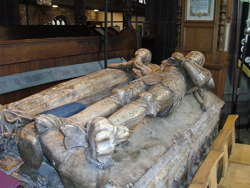Boteler Tomb, St Elphin's Church, Warrington, 20.6.18