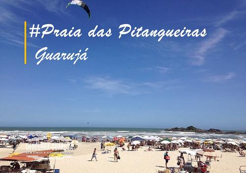 Praia das Pitangueiras Guarujá – SP