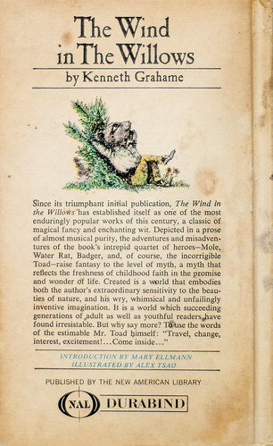 The Wind in the Willows (back cover)