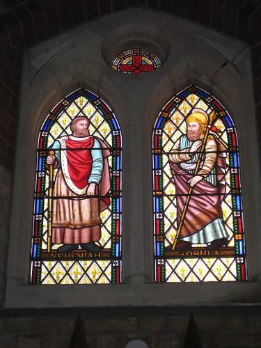 The Nehemiah Window and the Joshua Window by Ferguson and Urie; the Former Saint George's Presbyterian Church - Chapel Street, St Kilda East