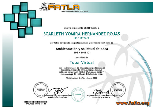 11119873 - Scarleth Hernandez - Tutor SDB-102018