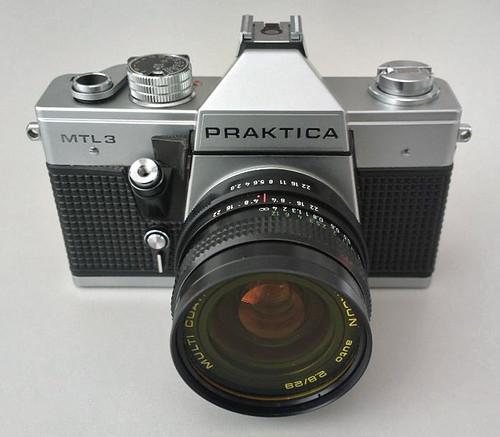 Praktica MTL 3 with Pentacon 2.8/29mm lens
