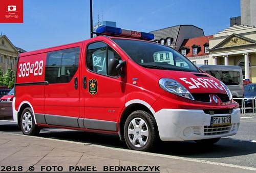 389[R]28 - SLKw Renault Trafic/Bibmot Mielec - OSP Furmany