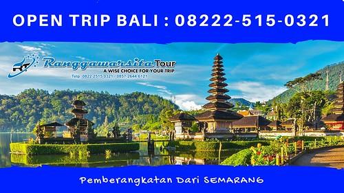 MURAH, CALL/WA 08222-515-0321, Open Trip Semarang Bali 2019