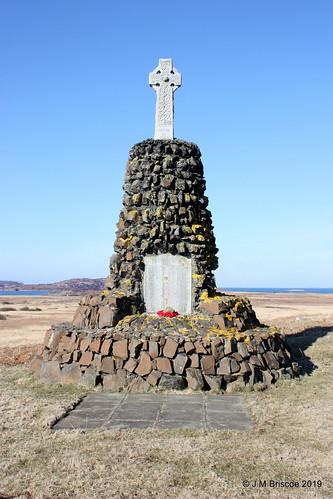 Parish of Kilfinichen and Kilvickeon War Memorial, Bunessan, Mull
