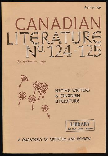 CANADIAN LITERATURE 124/125