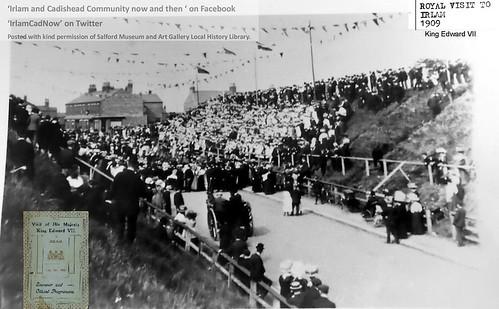 Royal visit to Irlam 1909