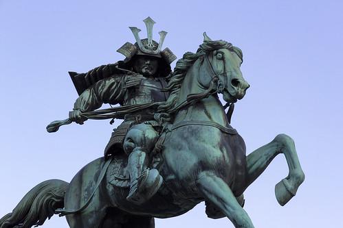 Statue of Kusunoki Masashige, Kōkyogaien, Chiyoda, Tōkyō, Japan