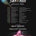 San Holo Announces Second Phase of His album1 tour