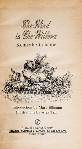 Wind in the Willows (title page)