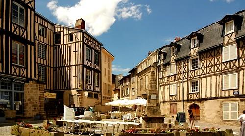 Limoges (Haute-Vienne, Fr) – Centre ville