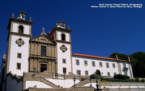 Mother Church in Santa Maria da Feira, Portugal