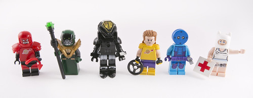 Spacers, Racers and Monsters with evil faces.