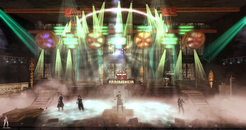 Rammstein Tribute 3-31-2019 @ STEALTH NOMADS MC by Thunder Rock concerts in Second Life