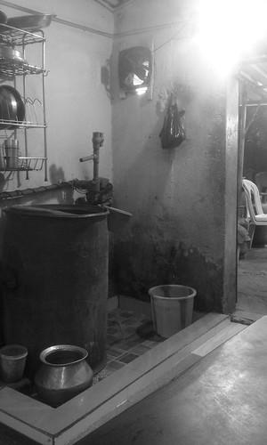 Savaran Restaurant: Washing Up Area
