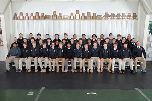 Jonathan Phillips Trinity High School wrestling 2018-Team Photo