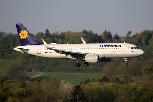 Lufthansa Airbus A320-214 D-AIZY