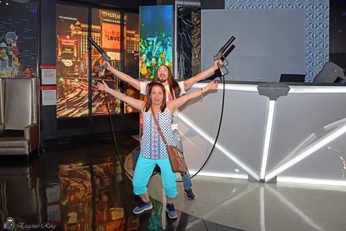 Steve Aoki  at the Madame Tussauds  Wax Museum.  Venetian. Las Vegas