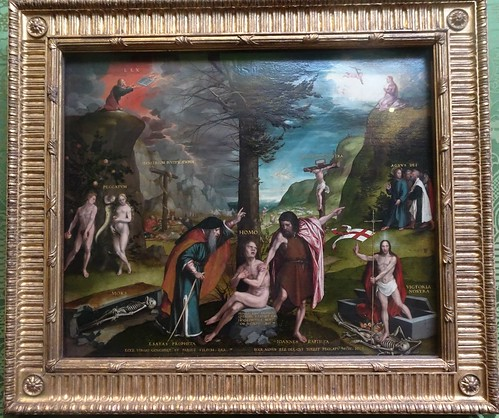 [71713] Edinburgh : National Gallery of Scotland - An Allegory of the Old and New Testaments