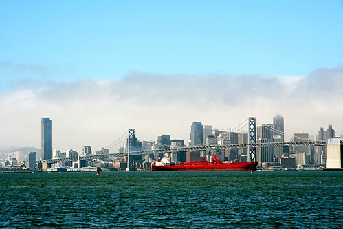 Red because special. San Francisco Bay Area.