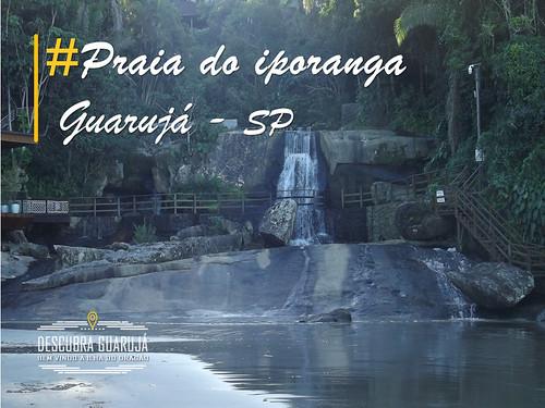Praia do Iporanga em Guarujá – SP