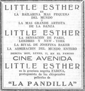 Baby Esther Jones in Madrid (1929)