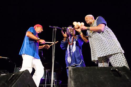Baba Sissoko, Antonello Salis, Don Moye #NJF2015