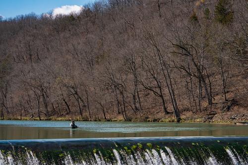 Fly Fishing at Bennett Spring, Missouri