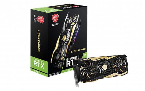 The MSI GeForce RTX 2080 Ti Lightning Z is one glorious looking custom card
